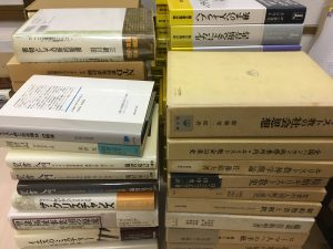昨日は神戸市北区でキリスト教関係と社会科学関係の買取り