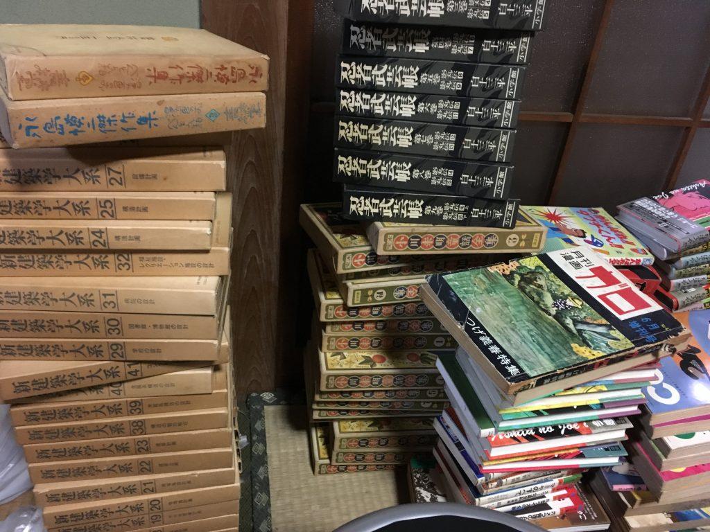 昨日は神戸市西区で建築関係・芸術関係と他大量買取り