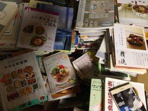 神戸市にて料理・片付け関係の書物の出張買取