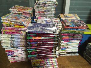 神戸市にて色々なコミック・漫画の出張買取