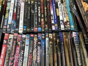 神戸市須磨区にて洋画DVD大量買取